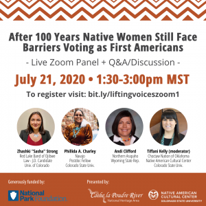Zoom Panel: After 100 Years Native Women Still Face Barriers Voting as First Americans