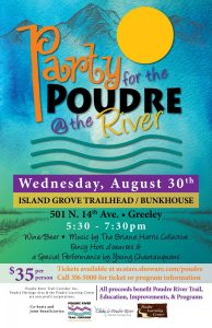 Party for the Poudre @ Island Grove Trailhead/Bunkhouse | Greeley | Colorado | United States