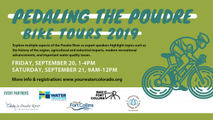 Pedaling the Poudre: Urban Water Cycle Tour @ Bellvue | Colorado | United States