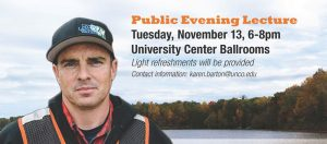 Schulze Speaker Series with Chad Pregracke, CNN Hero of the Year (2013) @ University Center Ballrooms     Greeley   Colorado   United States