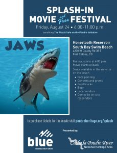 JAWS Splash-In Movie @ Horsetooth South Bay Swim Beach | Yulee | Florida | United States